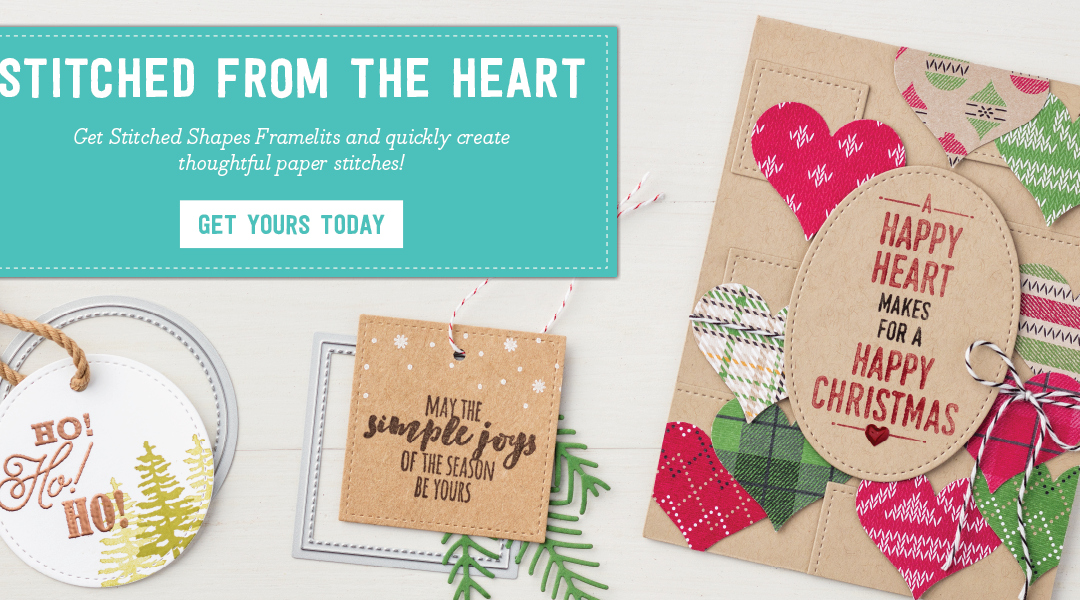 Stitched From the Heart Stampin' Up!' Latest