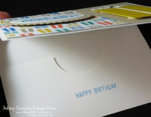Stampin'Up!, Party Animal Stamps, Presents, Gift Card Holder, Birthday Card Idea,#StampAfterSunrise