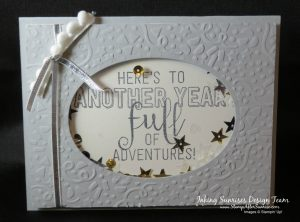 Stampin' Up!, Party Animal Stamps, Shaker Birthday Card Idea,#StampAfterSunrise